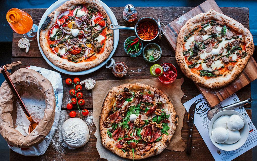 Mozza Pizza I Love Glasgow