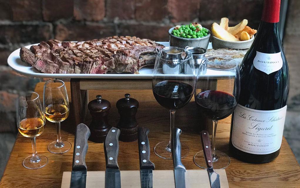Porter & Rye Steak