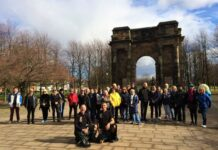 Kilted Haggis Walking Tour Group Glasgow
