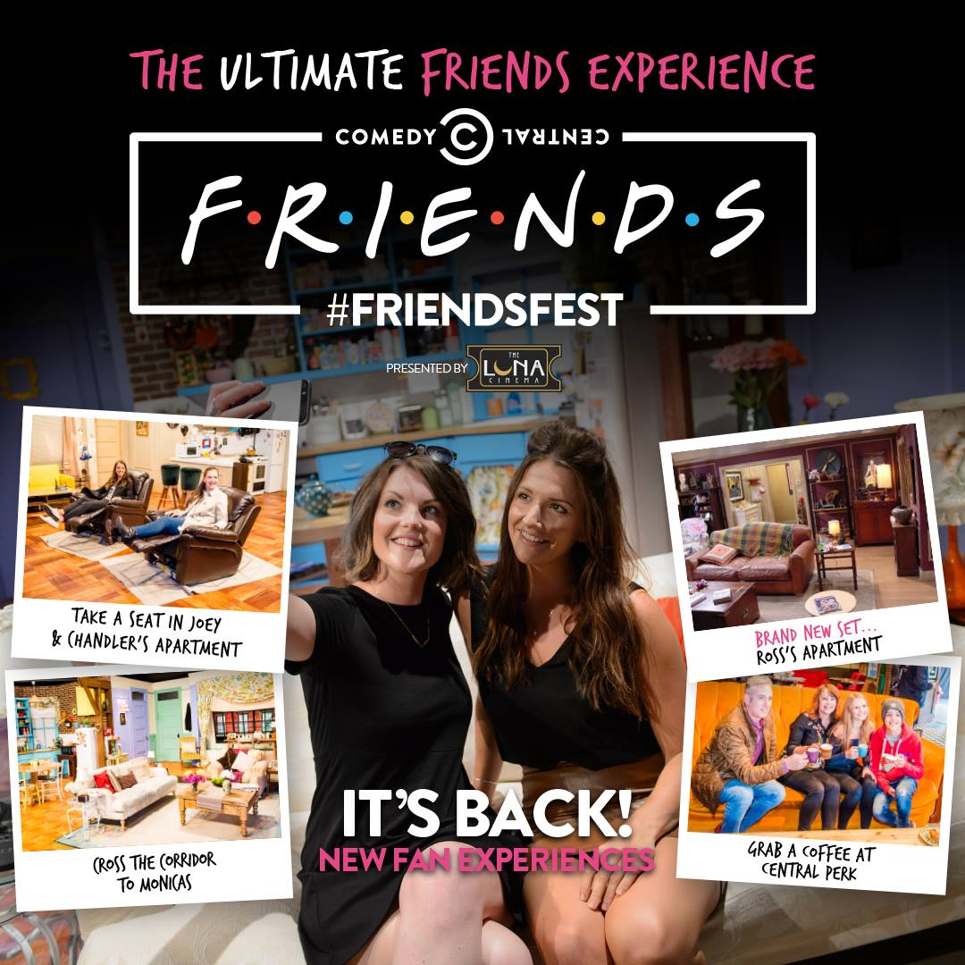 FriendsFest Glasgow Poster