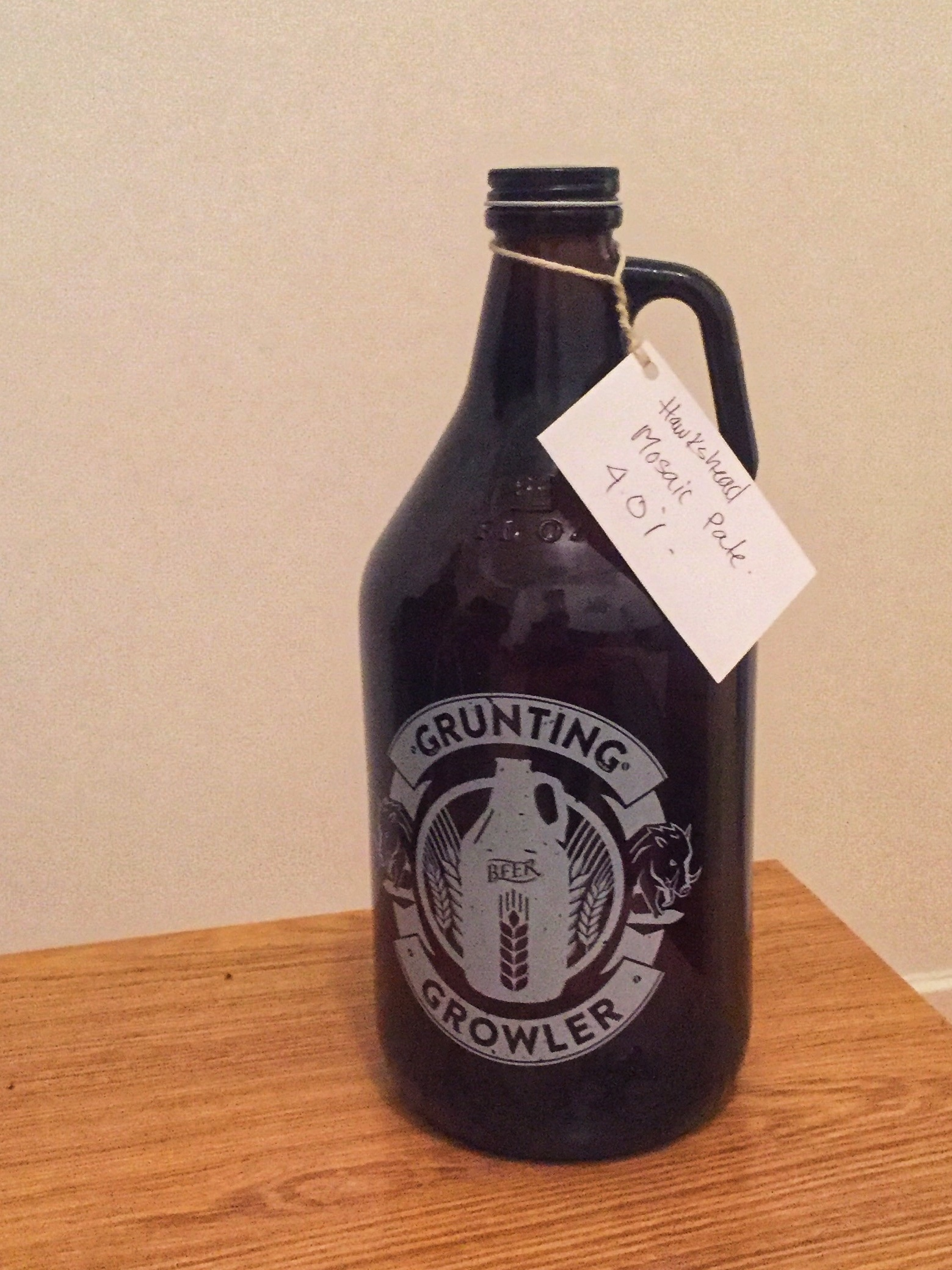 Grunting Growler Glasgow