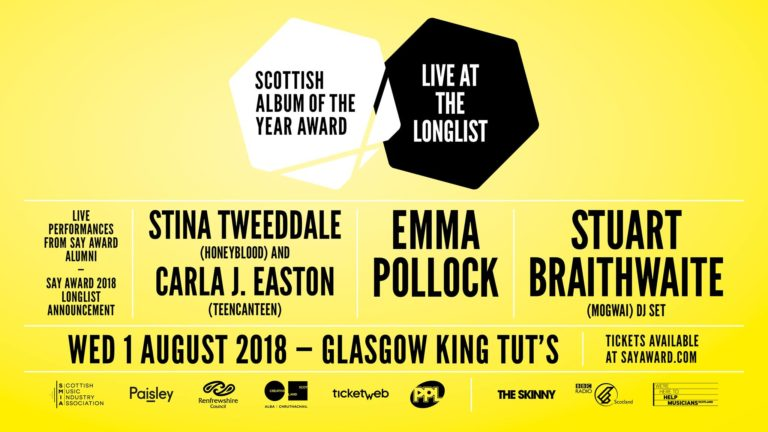 Live at the Longlist – Scottish Album of the Year Award