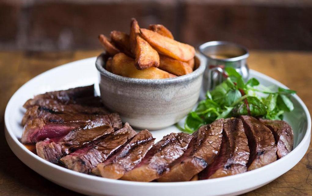 Glasgows Best Steak Porter and Rye