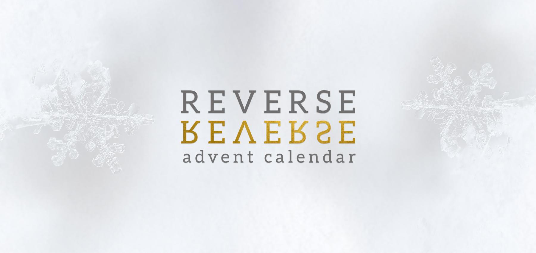 Sprigg Reverse Advent Calendar I Love Glasgow