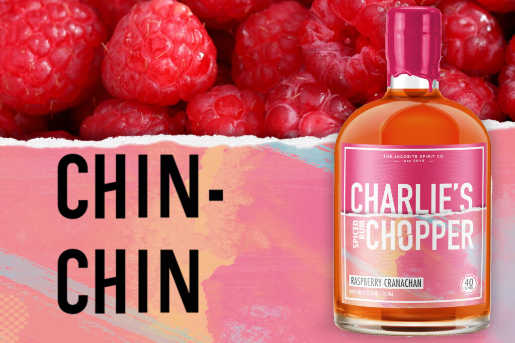 Charlie's Chopper Scottish Spiced Rum
